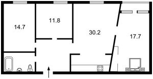 Apartment Volodymyrska, 40/2, Kyiv, R-25898 - Photo2