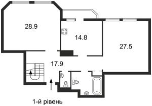 Нежитлове приміщення, Коновальця Євгена (Щорса), Київ, R-26525 - Фото2