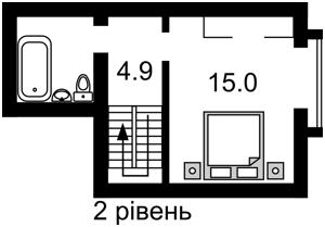 Квартира Героев Сталинграда просп., 10а, Киев, Z-628310 - Фото 3
