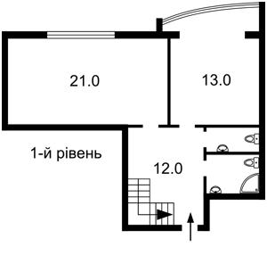 Квартира Підвисоцького Професора, 6в, Київ, J-27889 - Фото 2
