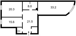 Квартира Антоновича (Горького), 131, Київ, H-45004 - Фото2