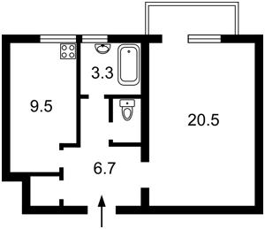 Квартира Предславинська, 38, Київ, A-110554 - Фото 2