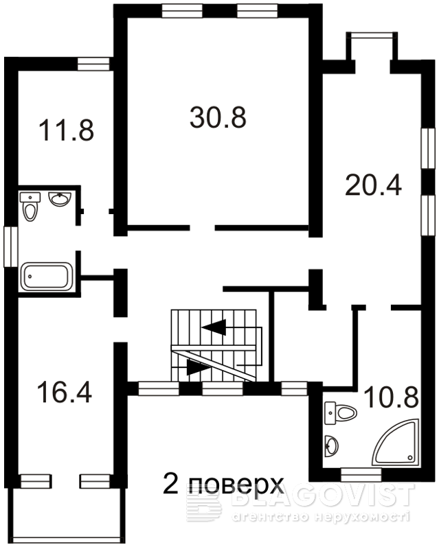 Дом R-28873, Лесники (Киево-Святошинский) - Фото 3