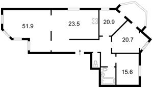 Квартира Героев Сталинграда просп., 24а, Киев, Z-659962 - Фото2