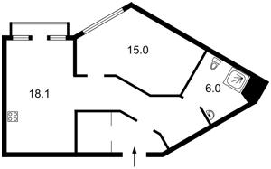 Квартира Липківського Василя (Урицького), 16г, Київ, R-29659 - Фото 2