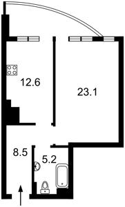 Квартира Лабораторный пер., 7, Киев, R-31210 - Фото2