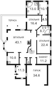 Дом Белогородка, F-42535 - Фото 2
