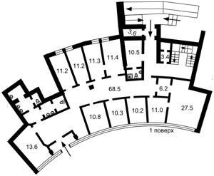 Нежилое помещение, Гоголевская, Киев, E-39127 - Фото 3