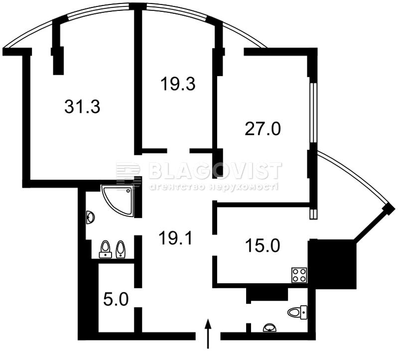 Квартира E-39183, Глубочицкая, 32б, Киев - Фото 8