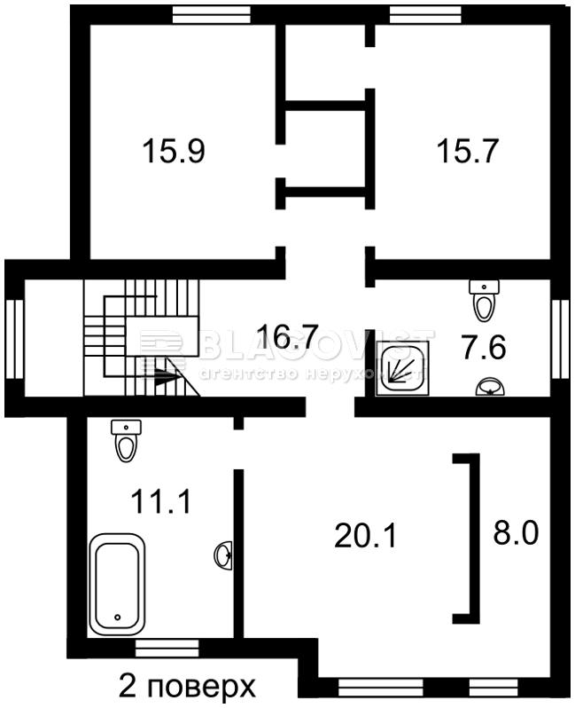 Дом R-31131, Яблуневая, Гора - Фото 6