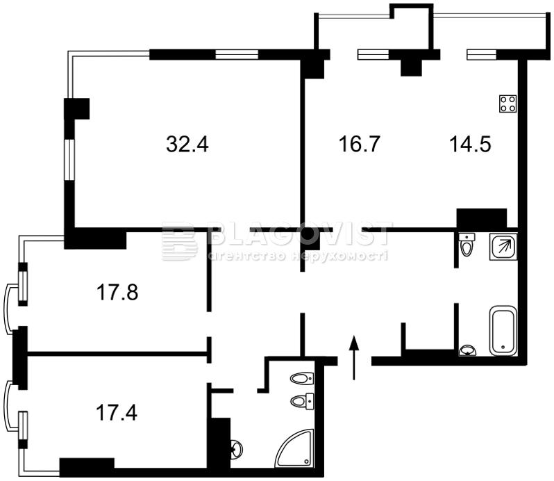 Квартира H-46122, Панаса Мирного, 17, Київ - Фото 3