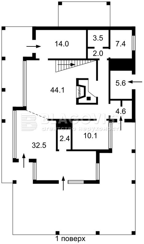 Дом E-39220, Старокиевская, Козин (Конча-Заспа) - Фото 4
