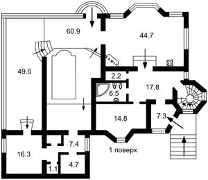 Дом R-18337, Скифская, Софиевская Борщаговка - Фото 3