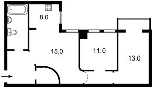 Квартира Малая Житомирская, 7, Киев, R-31982 - Фото2