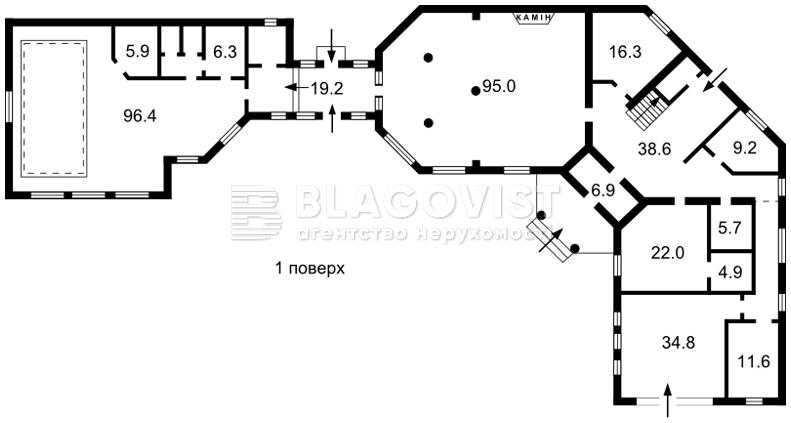 Дом H-46612, Новая, Козин (Конча-Заспа) - Фото 5