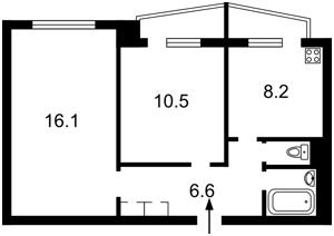 Квартира Героев Сталинграда просп., 49, Киев, R-32901 - Фото2