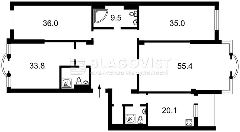 Квартира H-46756, Грушевського М., 9а, Київ - Фото 5
