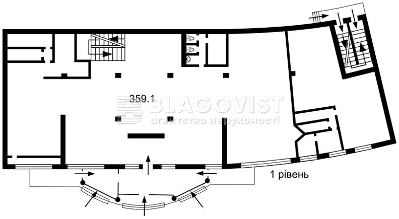 Нежитлове приміщення, H-46801, Ахматової Анни, Київ - Фото 3