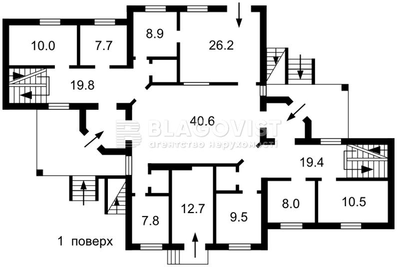 Нежилое помещение, Коростенская, Киев, R-33346 - Фото 3