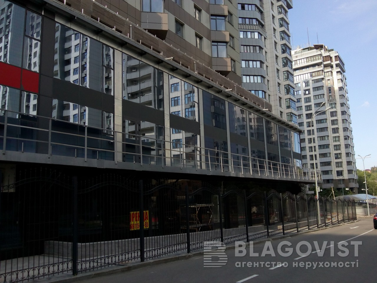 Нежилое помещение, Z-663729, Драгомирова Михаила, Киев - Фото 1