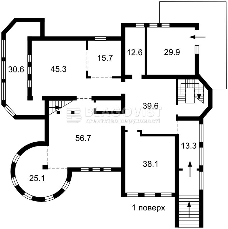 Дом R-33437, Полевая, Креничи - Фото 5