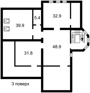 Дом Полевая, Креничи, R-33437 - Фото 6