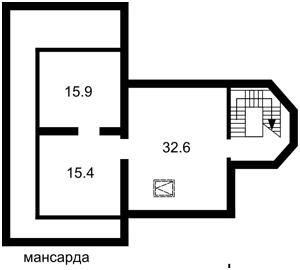 Дом Полевая, Креничи, R-33437 - Фото 7