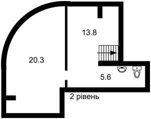 Квартира Круглоуниверситетская, 2/1, Киев, M-37709 - Фото 3