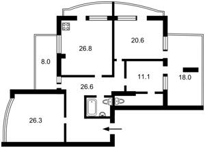 Квартира Подвысоцкого Профессора, 6в, Киев, H-47920 - Фото 2