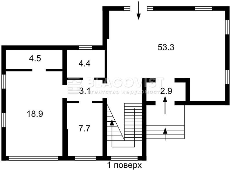 Дом A-111539, Лесники (Киево-Святошинский) - Фото 3