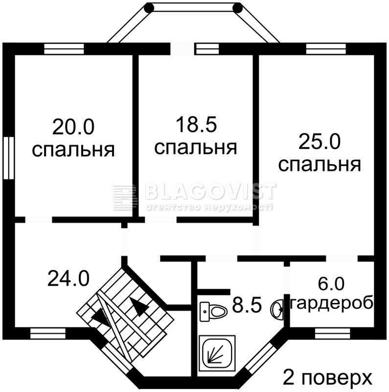Будинок R-35253, Білогородка - Фото 4