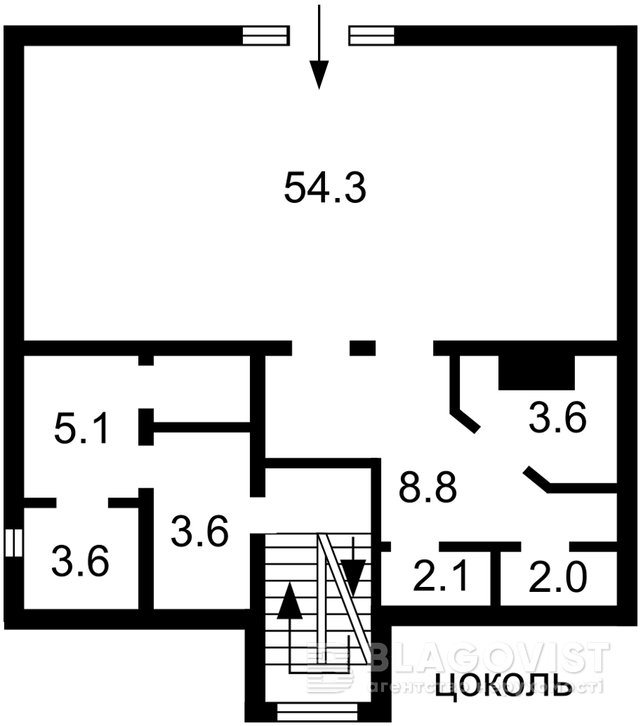 Дом R-36608, Глеваха - Фото 3