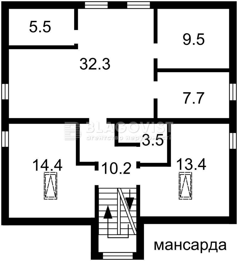 Дом R-36608, Глеваха - Фото 5