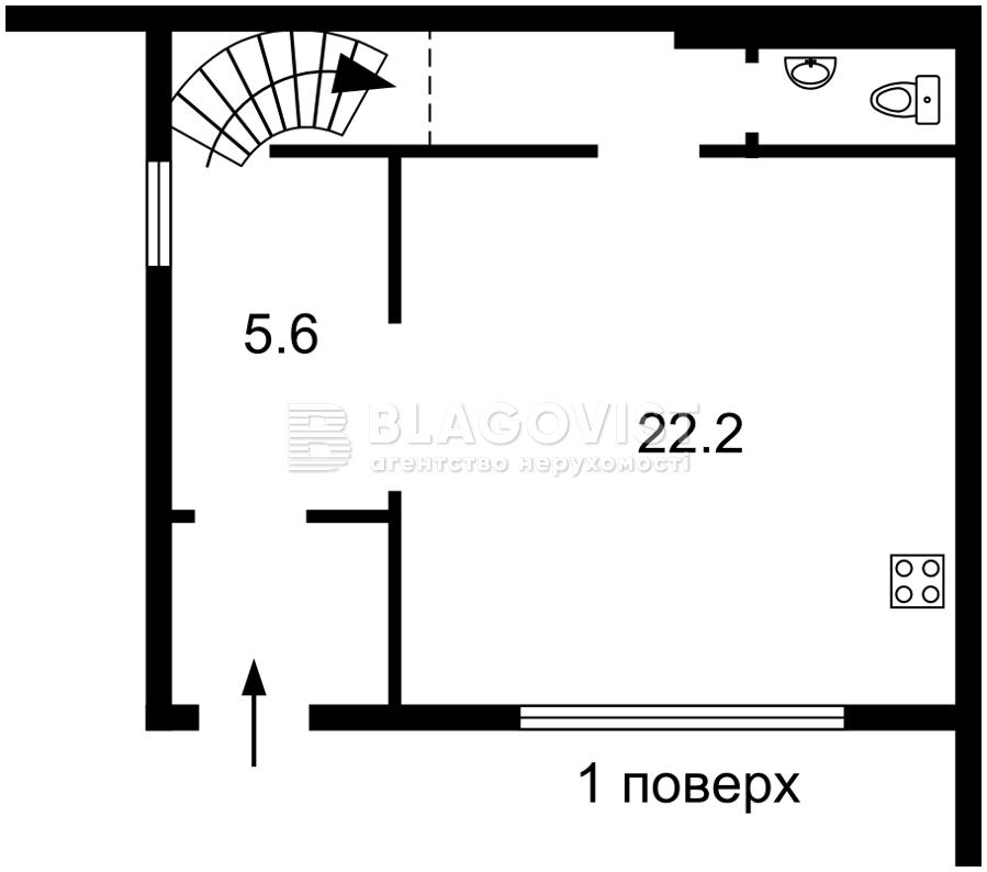 Квартира H-49223, Хмельницького Богдана, 11, Вишневе (Києво-Святошинський) - Фото 2