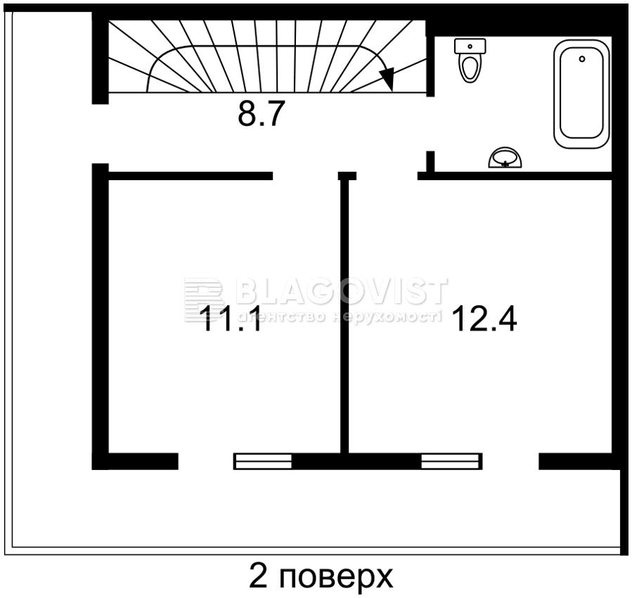 Квартира H-49223, Хмельницького Богдана, 11, Вишневе (Києво-Святошинський) - Фото 3