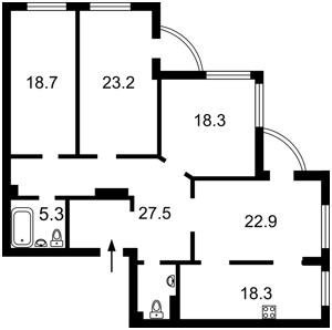 Квартира Чаадаева Петра, 2, Киев, R-37209 - Фото 2
