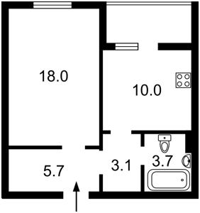 Квартира Радужная, 59б, Киев, F-44629 - Фото2