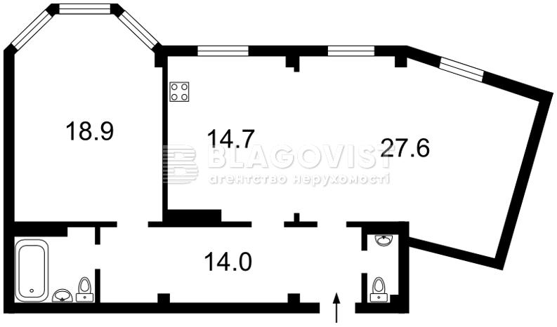 Квартира A-112049, Дмитриевская, 75, Киев - Фото 8