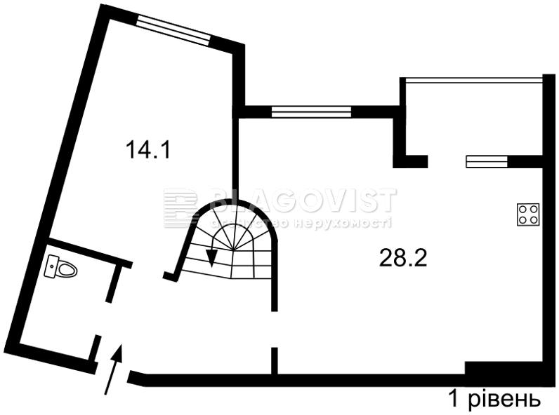 Квартира C-109022, Ахматовой, 7/15, Киев - Фото 4