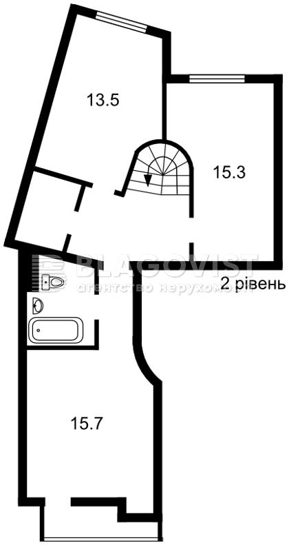 Квартира C-109022, Ахматовой, 7/15, Киев - Фото 5