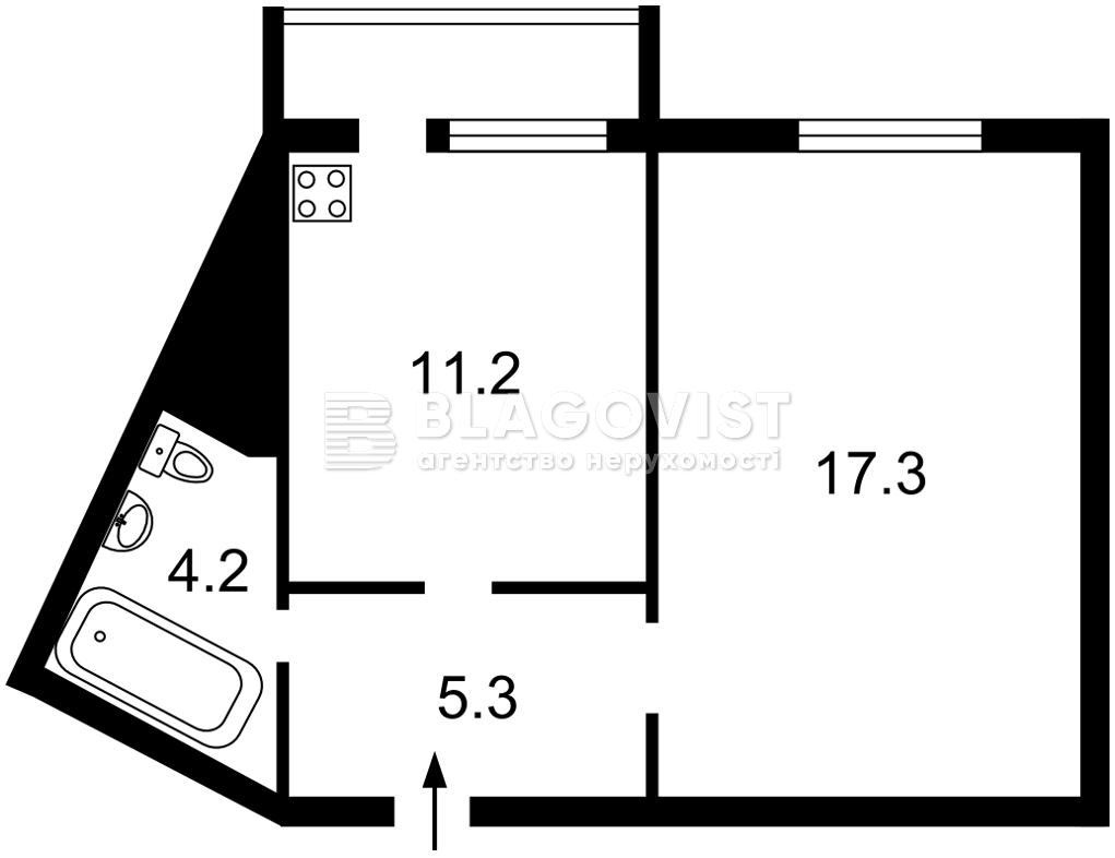 Квартира E-40846, Милославская, 4, Киев - Фото 4