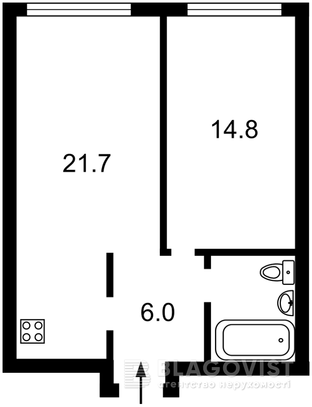 Квартира H-49923, Липкивского Василия (Урицкого), 16а, Киев - Фото 6