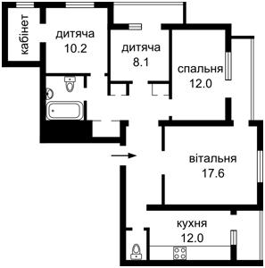 Квартира Солом'янська, 16б, Київ, M-38936 - Фото 2