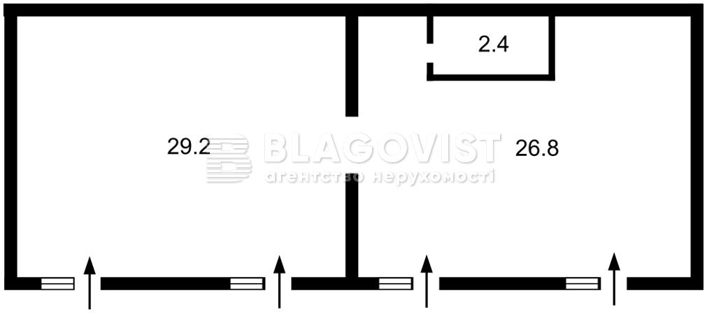 Нежитлове приміщення, A-112414, Максимовича Михайла (Трутенка Онуфрія), Київ - Фото 7