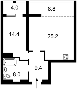 Квартира A-112442, Коновальца Евгения (Щорса), 44а, Киев - Фото 7