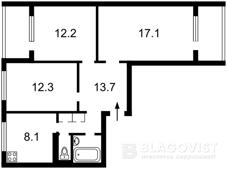 Квартира H-50360, Захаровская, 2, Киев - Фото 2
