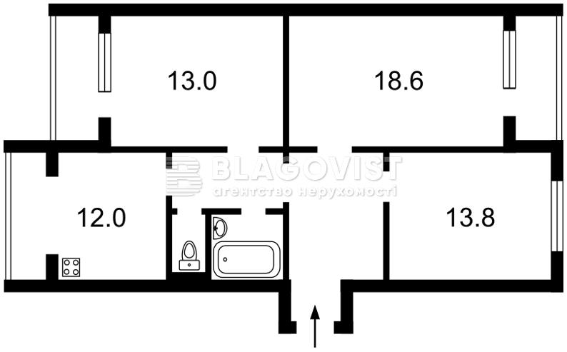 Квартира R-40425, Мостицкая, 10, Киев - Фото 3