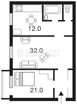 Квартира E-6998, Большая Васильковская, 26 б, Киев - Фото 2