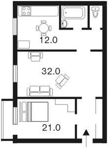 Квартира Большая Васильковская, 26б, Киев, E-6998 - Фото2