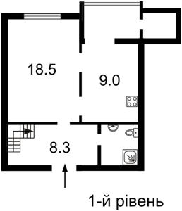 Квартира Лобановського просп. (Червонозоряний просп.), 130, Київ, X-27018 - Фото2